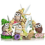 Disney Owl Always Love You Hand-Painted Tinker Bell Figurine Collection