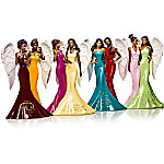 Keith Mallett Blessings Of Sisterly Love Angel Figurine Collection