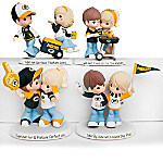 Precious Moments Green Bay Packers Pride Handcrafted NFL Figurine Collection
