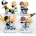 Precious Moments Pittsburgh Steelers Pride Handcrafted NFL Figurine Collection