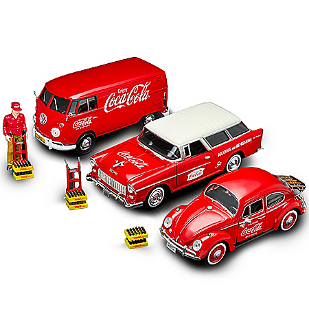 On The Road With COCA-COLA 1:24-Scale Diecast And Accessory Collection