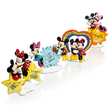 Mickey Mouse & Minnie Mouse Figurine Collection