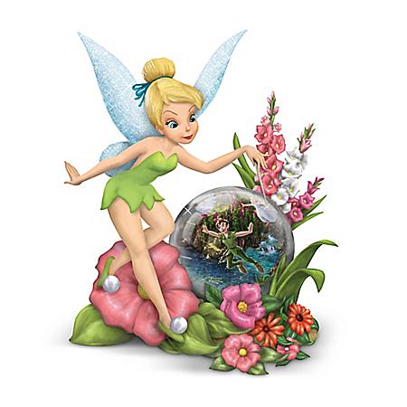Disney Thomas Kinkade Tinker Bell Figurine Collection