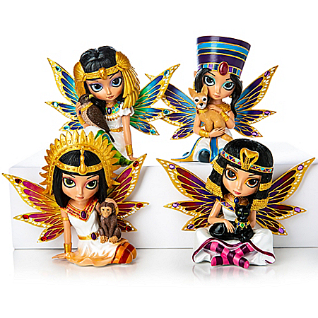 Egyptian Queens Of Love And Grace Fairy Figurine Collection