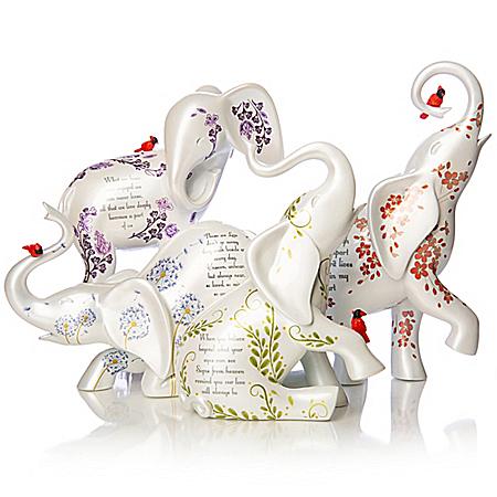 Blake Jensen Elephant Remembrance Figurine Collection