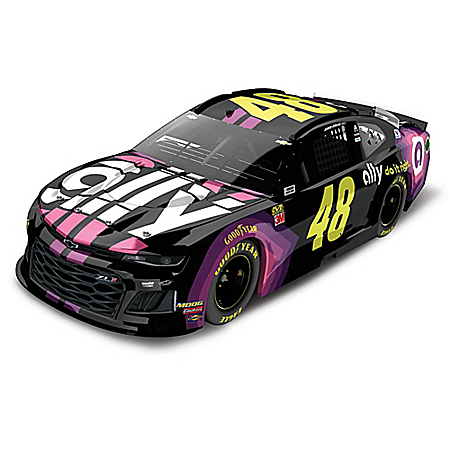 Jimmie Johnson 1:24-Scale 2019 NASCAR Diecast Car Collection