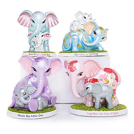 Blake Jensen Unforgettable Love Elephant Figurine Collection