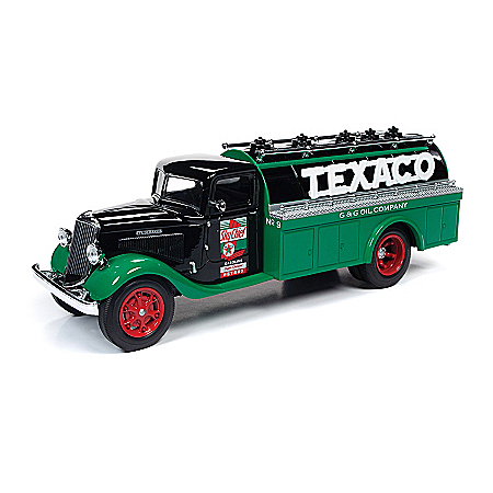 1:34-Scale The Brands Of Texaco Diecast Truck Coin Banks