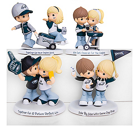 Precious Moments Eagles Pride Figurine Collection