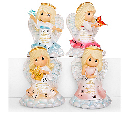 Precious Moments Light Of Love Angel Figurines With Lights
