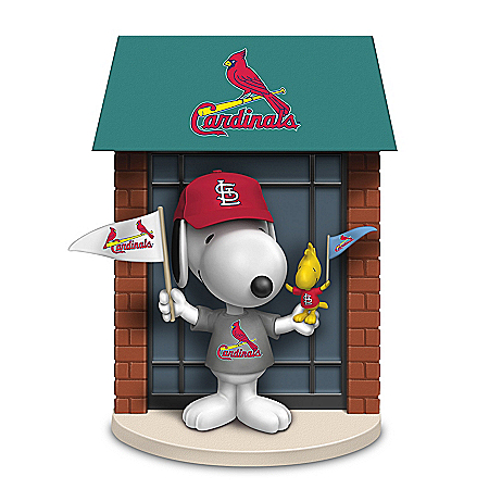 PEANUTS Snoopy St. Louis Cardinals Figurine Collection