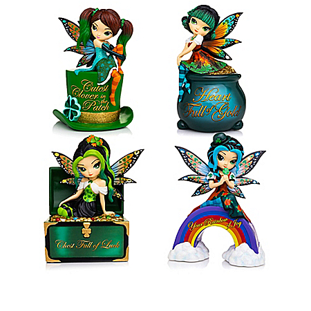 Jasmine Becket-Griffith Irish-Inspired Fairy Figurines