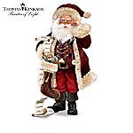 Thomas Kinkade So Real Santa Figurine Collection