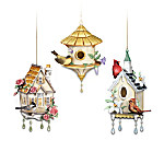 Home Sweet Home Songbird Collectible Ornament Hanging Sculpture Collection