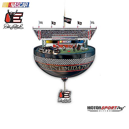 Dale Earnhardt Collectibles Dale Earnhardt: The Need For Speed NASCAR Racecar Christmas Ornament Collection