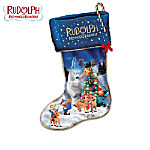 Rudolph The Red-Nosed Reindeer Illuminated Christmas Stocking Collection