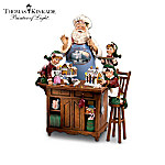 Thomas Kinkade Warm Holiday Treats Figurine Collection