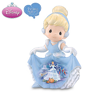 Home Decor Collectibles Precious Moments Disney Princess Figurine Collection: Disney Princess Home Decor