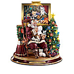 Santa Paws Illuminated Figurine Collection