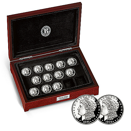 The Complete U.S. Morgan Silver Dollar Proof Coin Collection
