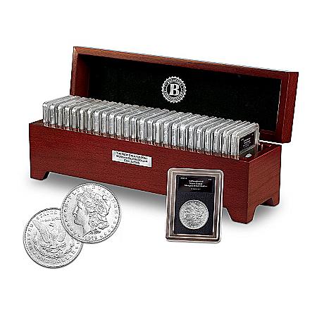 """The Complete """"O"""" Morgan Silver Dollar Coin Collection"""