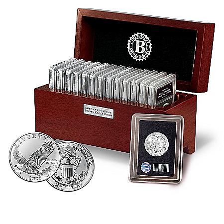 America's Historic Silver Eagle Coin Collection