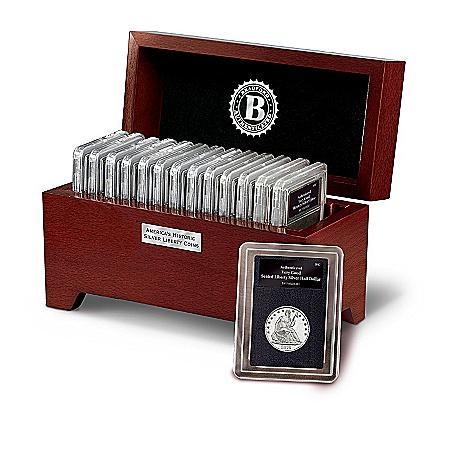 Coins Collection: America's Historic Silver Liberty Coins Collection
