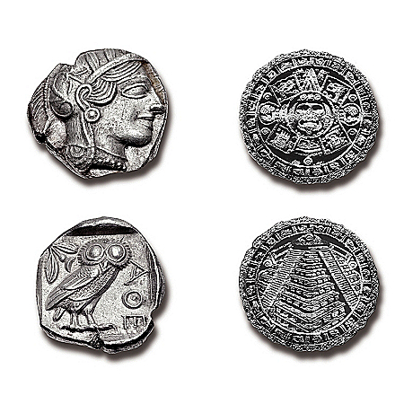 Silver Coin Collection: The Ancient Civilizations Artifacts