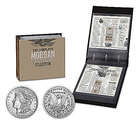 Coins: Morgan Silver Dollars Of The Wild West Coin Collection