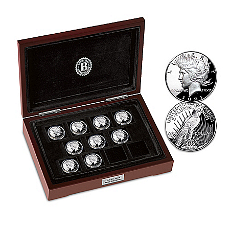 The Complete U.S. Peace Proof Coin Collection With Display Box