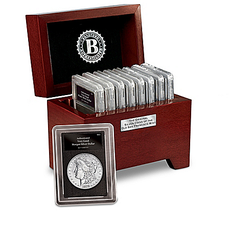Complete San Francisco Mint Original Silver Coins Collection With Display Box