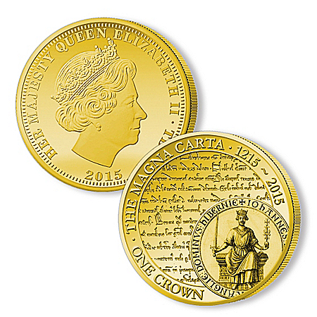 The Legacy Of Freedom 24K Gold-Plated Coin Collection