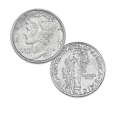 100th Anniversary of WWI War US Legal Tender Coin Collection: 1 of 1917