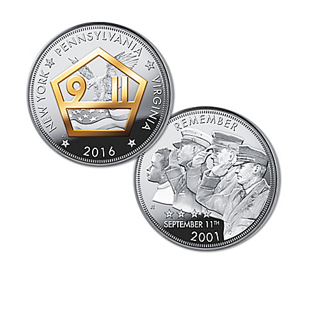 The Heroes Of 9/11 15th Anniversary Silver Proof Coins