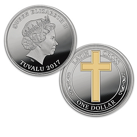 The 2017 Legal Tender Christian Latin Cross Coin Collection: 1 of 2500