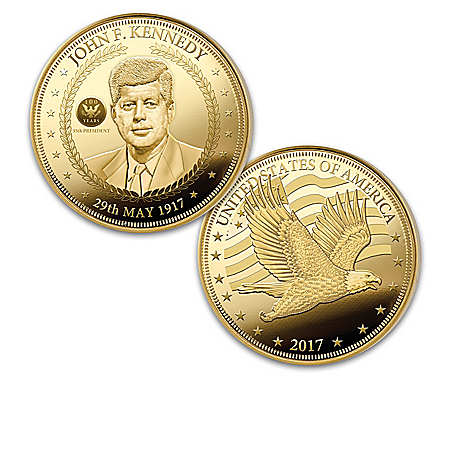 John F Kennedy 100th Anniversary Legacy Proof Coin Collection with Display Box