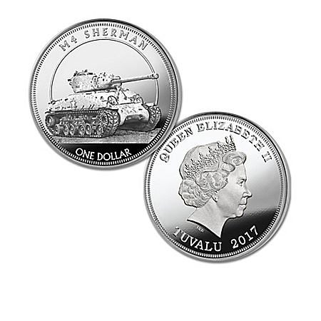 The Worlds Greatest Tanks Silver Dollar Coin Collection