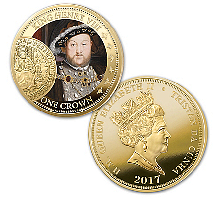 Historic British Sovereign 200th Anniversary Crown Coin Collection with Display