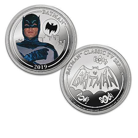 The BATMAN Classic TV Series Silver-Plated Proof Coin Collection