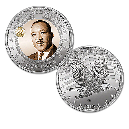 Dr Martin Luther King Jr Commemorative Legacy Proof Coin Collection: 1 of 2000