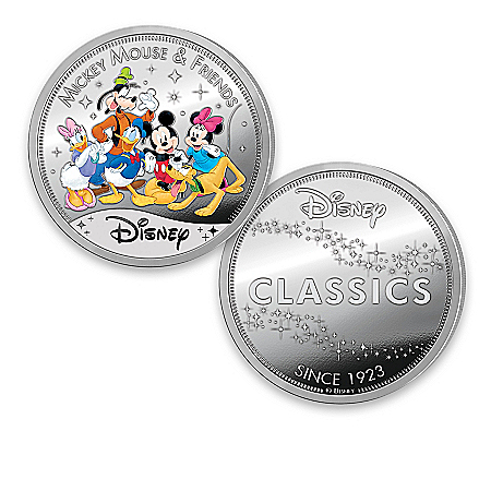 Disney Classics Silver-Plated Proof Collection