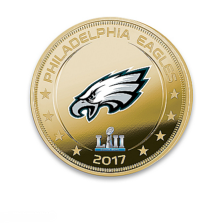 Super Bowl LII Coin: Philadelphia Eagles Dollar Coin Collection