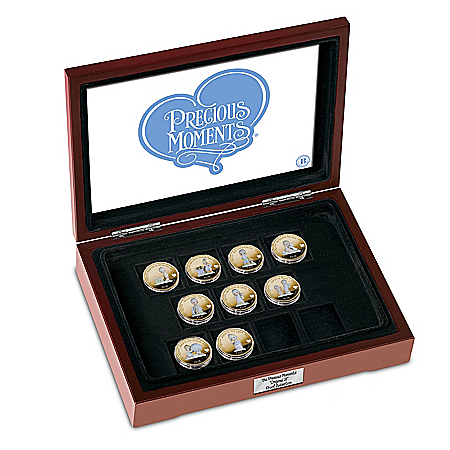 Precious Moments 24K Gold-Plated Proof Coin Collection