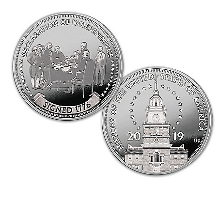 The U.S. History 99.9% Silver-Plated Proof Coin Collection