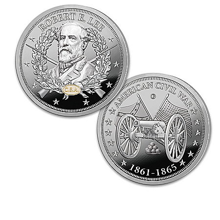 The Greatest Civil War Generals Silver-Plated Proof Coin Collection