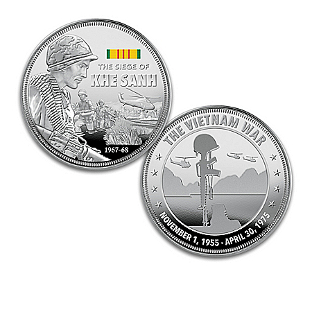 The Vietnam War Battles Commemorative Proof Coin Collection