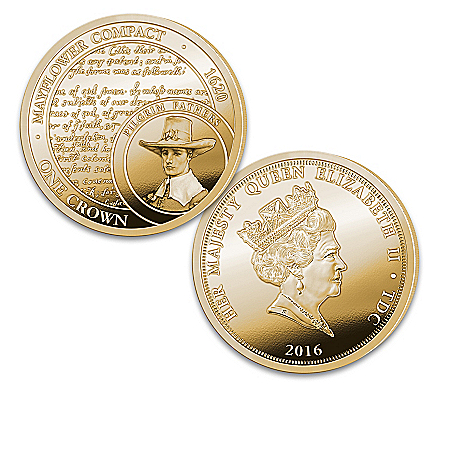 Legacy Of Freedom 24K Gold-Plated Coin Collection