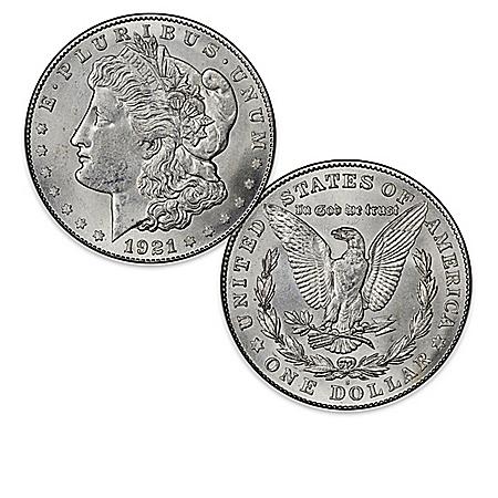 Rare U.S. Morgan Silver Dollar Collection: 1878-1921