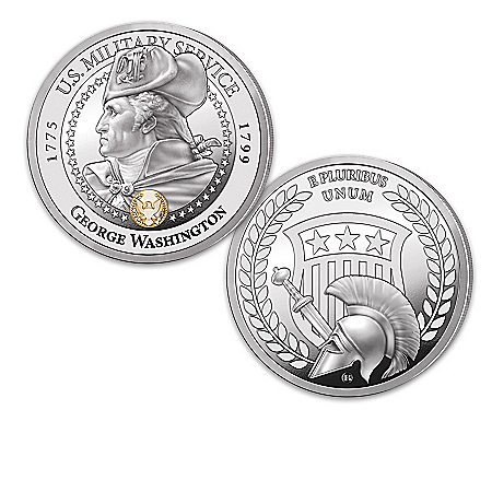 Presidential Veterans Proof Coin Collection With Display Box