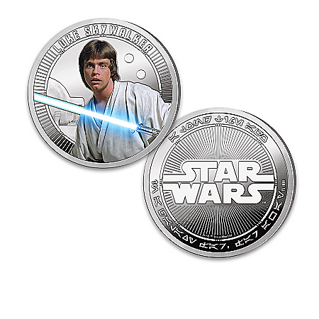 STAR WARS Proof Collection With Luke Skywalker Proof